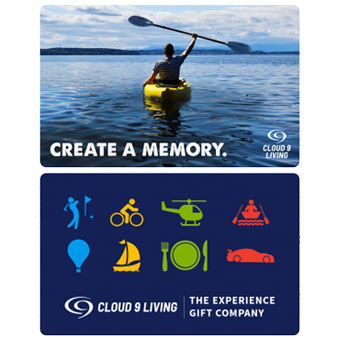 Cloud 9 Living eGift Card — $50 – $1,000