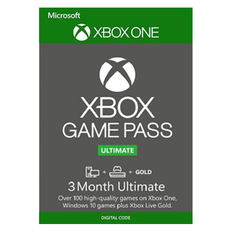 3 Month Xbox Game Pass Ultimate Xbox One / PC  — $23.69 - $39.59